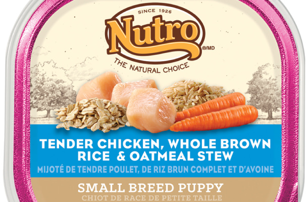 Nutro Small Breed Puppy Chicken and Oatmeal Stew